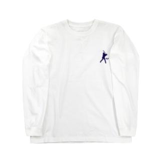 バッティングロゴ Long sleeve T-shirts