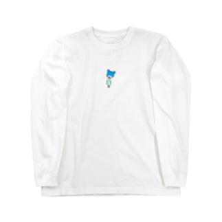 腹ペコとまるちゃん。 Long sleeve T-shirts