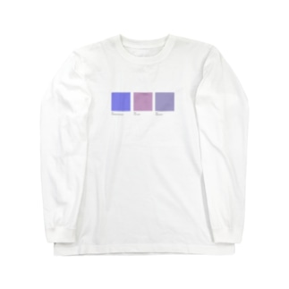 COLOR CHART by DODU Long sleeve T-shirts