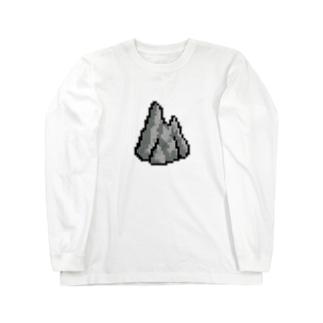 岩山 Long sleeve T-shirts