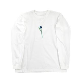 アオイチューリップ Long sleeve T-shirts