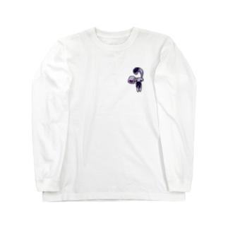 うさちゃんのTシャツ(ロング) Long sleeve T-shirts