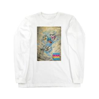 妖精に召される魚 Long sleeve T-shirts