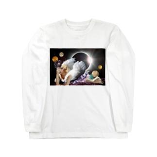 魔法使いの弟子-ダークナイト- Long sleeve T-shirts