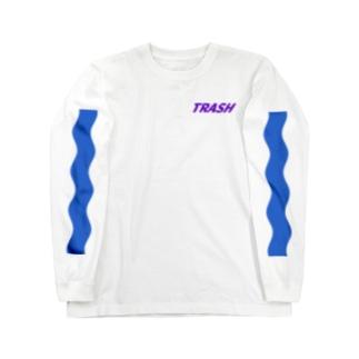 トラッシュ Long sleeve T-shirts