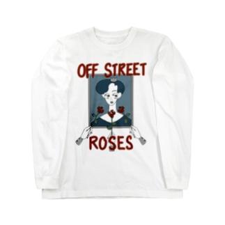 路地裏ROSES Long sleeve T-shirts