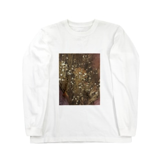 ドライフラワー Long sleeve T-shirts