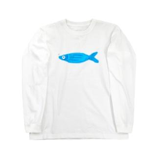 Smile fish Long sleeve T-shirts