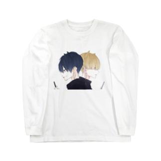 大和と耕四郎 Long sleeve T-shirts