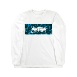 Takassy Army Corp(ブルーカモ)Horizontal Long sleeve T-shirts
