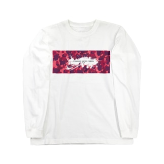Takassy Army Corp(ピンクカモ)Horizontal Long sleeve T-shirts