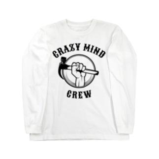 crazymind_poulのクレイジーマインド Long sleeve T-shirts