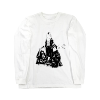 ヤンキーサカナ Long sleeve T-shirts
