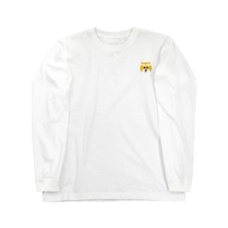 ちょっと鬼ヶ島に(柴犬くん) Long sleeve T-shirts