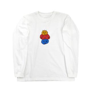 仲良し団子ブラザーズ Long sleeve T-shirts