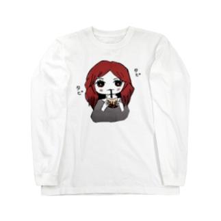 タピタピ Long sleeve T-shirts