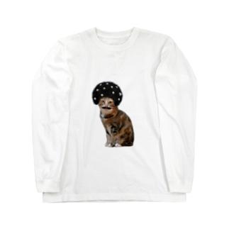 あふろにゃんこ Long sleeve T-shirts