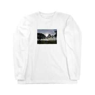 サンセット1 Long sleeve T-shirts