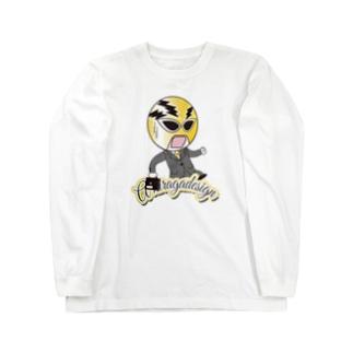 AHD公式キャラクター[ポニー] Long sleeve T-shirts