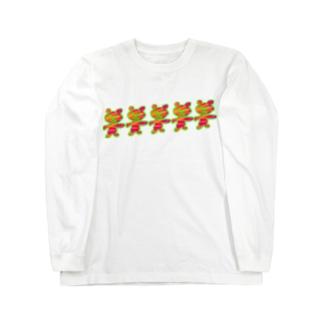 SANTA⭐︎BEAR Long sleeve T-shirts