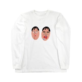 社蓄くん Long sleeve T-shirts