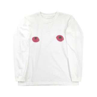 ふぞろいトマト Long sleeve T-shirts