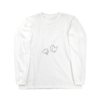 いぬ と いぬ Long sleeve T-shirts