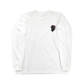 ぶどう Long sleeve T-shirts
