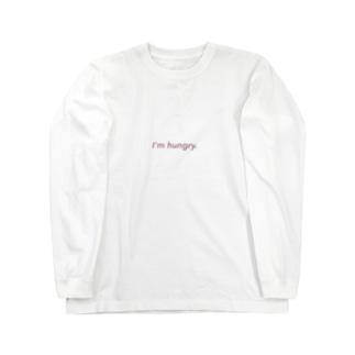 I'm hungry. Long sleeve T-shirts