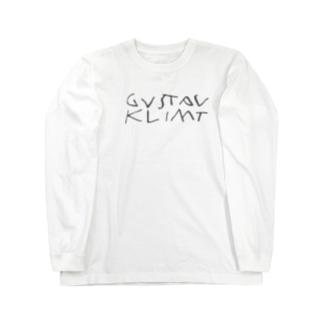 グスタフ・クリムト Long sleeve T-shirts
