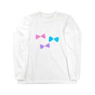 RIBBON Long sleeve T-shirts