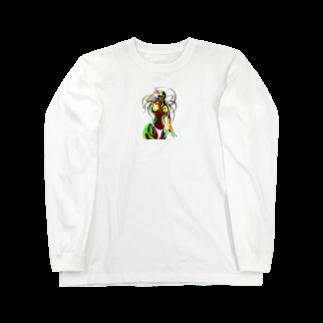 Hori shopのsummer girl Long sleeve T-shirts