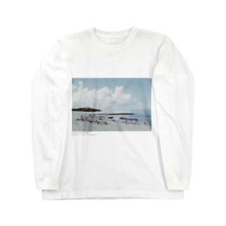 beautiful beach Long sleeve T-shirts