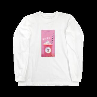 mikayachiのタピタピ Long sleeve T-shirts