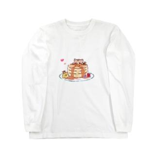 パンケーキ Long sleeve T-shirts