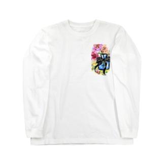 オリジナルイラスト Long sleeve T-shirts