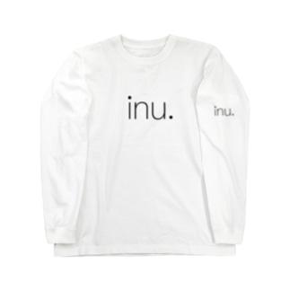 """I LOVE """"inu"""" Long sleeve T-shirts"""