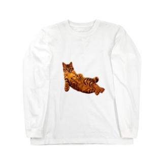 Elegant Cat Long sleeve T-shirts