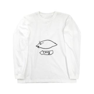 のびのびポーラ Long sleeve T-shirts