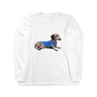 ぴょるくん Long sleeve T-shirts