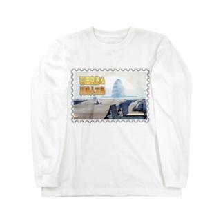 東京都+神奈川県:羽田空港と川崎人工島★白地の製品だけご利用ください!! Tokyo+Kanagawa: Haneda Airport and Kawasaki-jinkoutou★Recommend for white base product only !! Long sleeve T-shirts