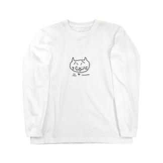 ねこのおじニャン Long sleeve T-shirts