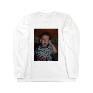 シャボン玉小僧 Long sleeve T-shirts