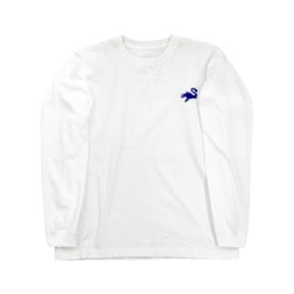 えらすもさうるす(恐竜シリーズNo1・ワンポイント) Long sleeve T-shirts