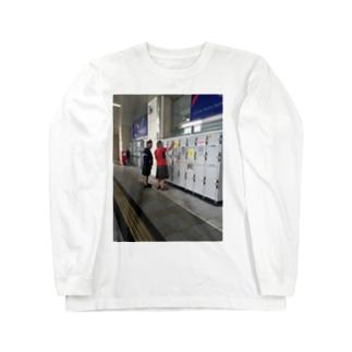 スカート文化 Long sleeve T-shirts