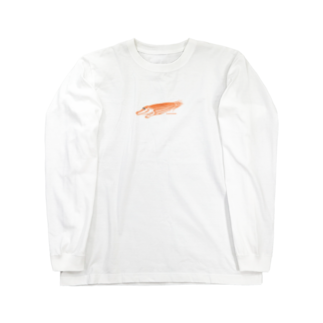 Hori shopのわにモロコシ Long sleeve T-shirts