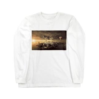 反転した街 Long sleeve T-shirts