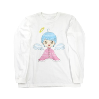 天使の女の子 Long sleeve T-shirts