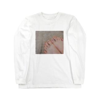ネイル Long sleeve T-shirts
