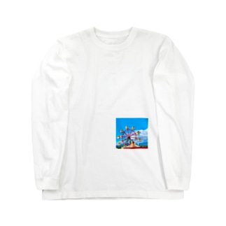 観覧車 Long sleeve T-shirts